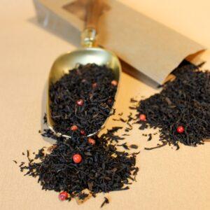 Schwarzer Tee aromatisiert, Erdbeer Pfeffer | Hauptbild