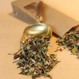 Weißer Tee aromatisiert, White Cassie | Hauptbild