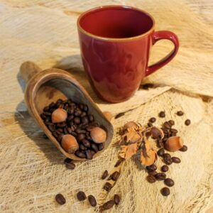Kaffee aromatisiert, Haselnuss